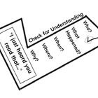"""Do you follow the """"Daily 5"""" Literacy Centre Model by """"The 2 Sisters"""" in your classroom? If so these """"Check for Understanding"""" Checkmarks are a must..."""