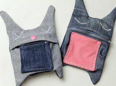 DIY-Anleitung: Upcycling: Hasentasche aus alten Jeans nähen via DaWanda.com
