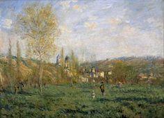 Printemps à Vétheuil (Lente in Vétheuil) - Claude Monet, 1951 | Collectie Boijmans