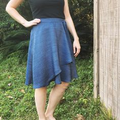 Vogue 2693 wrap skirt (out of print) by @soisewedthis