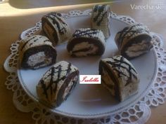 Oblátková roláda (fotorecept) - recept | Varecha.sk Muffin, Breakfast, Food, Basket, Morning Coffee, Essen, Muffins, Meals, Cupcakes
