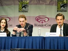 the mortal instruments movie panel 2013 comic con photos | ... , and Cassandra Clare at the City of Bones Panel at WonderCon 2013