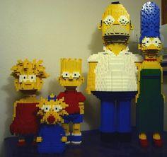 Amazing Lego Creations The Simpsons