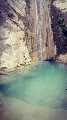 Waterfall, Nidri, Lefkada, Greece