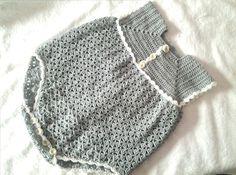 Pelele o enterizo a crochet parte 1