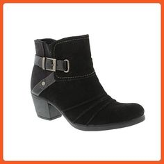 Earth Spirit Butte - Black (Leather) Womens Boots 7 US - Boots for women (*Amazon Partner-Link)