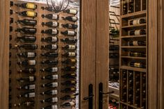 Our team of wine cellar construction experts specialize in skillfully crafting one of a kind wine cellars from consultation and design to installation. Glass Wine Cellar, Wine Cellar Design, Wine Cellars, Pa Wine And Spirits, Wine Slow, Different Types Of Wine, Wine Gift Baskets, Wood Wine Racks, Wine Brands