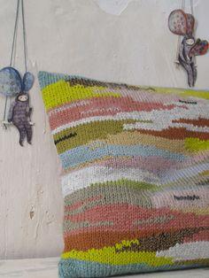 """coussin """"paysage"""" - les petites bohèmes"""
