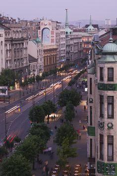 Serbia, Belgrade, Kralja Milana Street