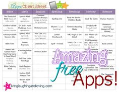 Amazing Free Educational iPhone Apps!! Free PRINTABLE list broken down by subject!! Great to print and keep in your lesson plan book!