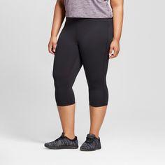 Women's Plus-Size Freedom Knee Tights - C9 Champion - Black 1X