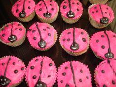 Muffins mariquitas de colores