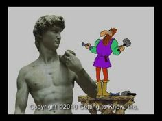 "Art Videos for Kids: Michelangelo ""Getting to Know. Michelangelo"" - 21 videos about art, artists and others for kids, looks cute Art History Lessons, Art Lessons, Art Videos For Kids, Art For Kids, Michelangelo, S Videos, Ecole Art, Art Curriculum, Middle School Art"
