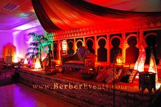 Arabian Nights Theme Debutante Party 19 by www.BerberEvents.com, via Flickr Arabian Nights Theme Party, Arabian Nights Prom, Arabian Party, Arabian Theme, Homecoming Themes, Homecoming Dance, Moroccan Theme, Moroccan Party, Dance Decorations