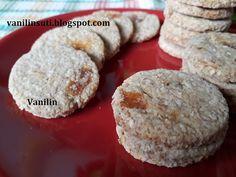 Zabpelyhes-kókuszos-barackos keksz Biscotti, Cookies, Desserts, Food, Crack Crackers, Tailgate Desserts, Deserts, Biscuits, Essen