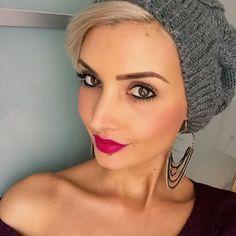 Es wird mal wieder Zeit für einen Friseur Besuch Haare sitzen nicht mehr da muss für den Rest der Woche die Mütze her #badhairday #hair #haircut #undercut #pixie #pixiecut #me #beauty #beautiful #beautyqueen #lips #urbandecay #urbandecaycosmetics #gwenstefani #lipstick #photo #photooftheday #selfie #selfies