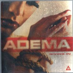 ADEMA GIVING IN (SINGLE 2001) PROMO - 1 CENT CD: FREE SHIPPING #HardRock