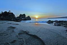 Sunrise on Tanesashi Beach in Hachinohe (八戸市), Japan Half Japanese, Turning Japanese, Lake Towada, Japan Beach, Aomori, Travel Memories, Japan Travel, Asian Beauty, Sick