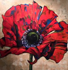 Diane Barbee – Celebration of Fine Art Red Poppies, Poppy Flowers, Make You Smile, Flower Art, Eye Candy, Illustration Art, My Arts, Fine Art, Kids Rooms