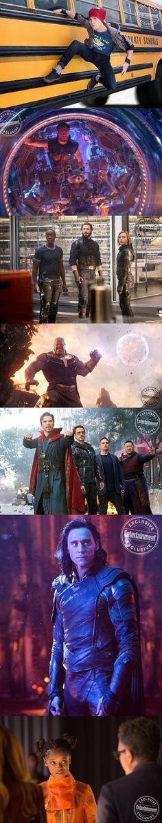 New stills from Avengers: Infinity War