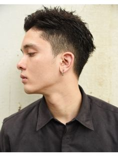 Permed Hairstyles, Boy Hairstyles, Tomboy Haircut, Short Hair Cuts, Short Hair Styles, Hear Style, Men Hair Color, Asian Men Hairstyle, Hair Reference