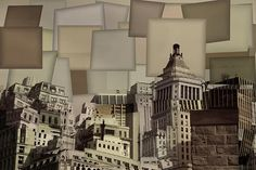 Manhattan Cubism Photo for office