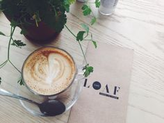 Loaf Cafe is a coffee shop in Ballito Coffee Shop, Latte, Tableware, Food, Coffee Shops, Loft Cafe, Dinnerware, Tablewares, Eten