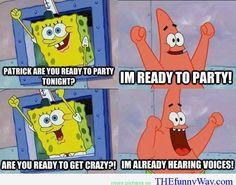Funny Spongebob Jokes | ... love Patrick , Spongebob cartoons , Spongebob cartoons I love Patrick