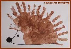 Top 40 Beispiele für Büttenpapier-Events - Everything About Kindergarten Kids Crafts, Daycare Crafts, Toddler Crafts, Autumn Activities, Craft Activities For Kids, Preschool Crafts, Autumn Crafts, Autumn Art, Hedgehog Craft