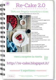 Tarte con fragole e timo RE-CAKE 2.0