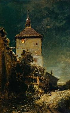 Carl Spitzweg - The Tower in Schwandorf