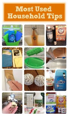 Most Used Household Tips And Tricks On Hometalk!