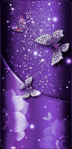 Pretty Phone Wallpaper, Butterfly Wallpaper, Butterflies, Sparkle, Elegant, Outdoor Decor, Beautiful, Home Decor, Art