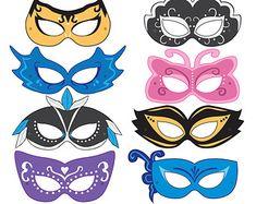 mask masquerade printable - Google pretraživanje