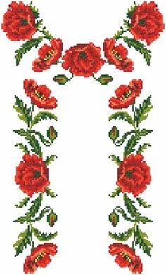 Grand Sewing Embroidery Designs At Home Ideas. Beauteous Finished Sewing Embroidery Designs At Home Ideas. Beaded Cross Stitch, Cross Stitch Borders, Cross Stitch Flowers, Cross Stitching, Cross Stitch Embroidery, Cross Stitch Patterns, Beaded Embroidery, Machine Embroidery Designs, Embroidery Patterns