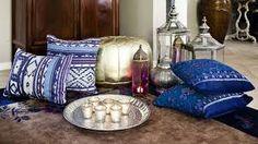 it reminds me of my trip to morocco Home Living, Decoration, Boho Chic, Oriental, Ottoman, Throw Pillows, Chair, Bed, Furniture