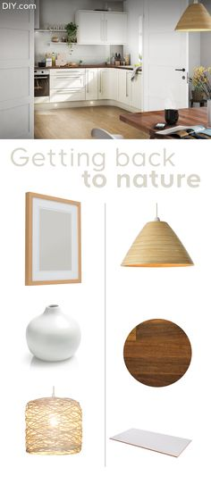 Achieve that back to nature by using sustainable products and natural materials in your kitchen designs. By combining natural colours with pops of greenery you can create a relaxed, soothing atmosphere in your kitchen. Gold Bedroom Decor, 60s Bedroom, Jungle Bedroom, Design Bedroom, White Bedroom, Bedrooms, Kitchen Trends, Kitchen Designs, Kitchen Images