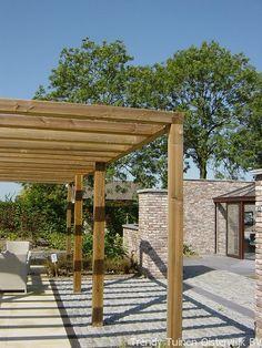pergola, timber frame