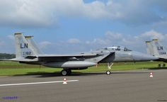 Several aircraft came from RAF Lakenheath, including the F-15D Eagle of the 493rd FS to Belgian Air Force Days September 2014.