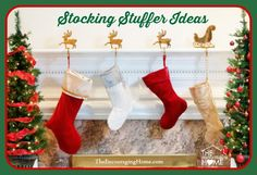Christmas is a wonderful time of year.One way we enjoy giving gifts is in the Christmas stockings. Digging in the stocking is usually about as much fun as opening gifts. Many families make this ...