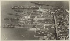 Aerial photo of Williamstown,Victoria in the Williamstown Victoria, Melbourne Victoria, Aerial View, Historical Photos, Beautiful Images, Old Photos, Cool Pictures, City Photo, History