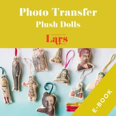 (1) Photo Transfer Plush Dolls, E-Book – The House That Lars Built Photo Transfer, Christmas Ornaments To Make, Christmas Decor, Star Of Bethlehem, Creative Embroidery, Sewing Box, Book Show, Crafty Craft, Crafting