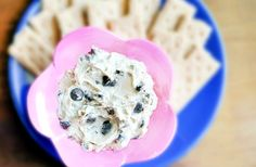 Cookie Dough Dip. Yes, it's a thing. And no, it won't send you into a sugar coma. But everyone who tastes it will be obsessed!