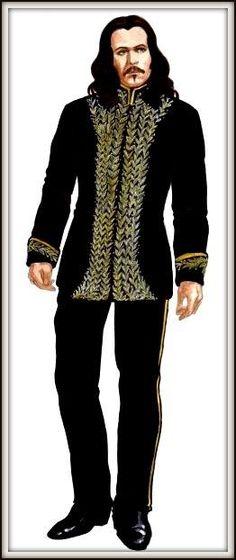 Bram Stoker's Dracula costume.