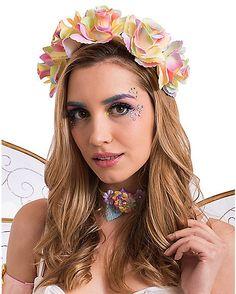 Fairy Flower Crown Headband - Spirithalloween.com