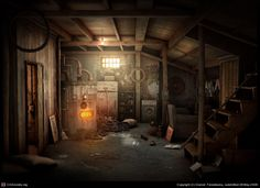 Basement by Raluca&Daniel Feresteanu | 3D | CGSociety
