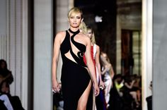 Versace Couture Gets Raunchy With Strategically-Placed Cut Outs