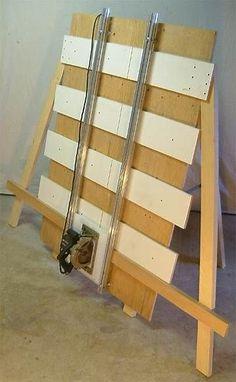 Resultado de imagem para DIY Panel Saw Plans