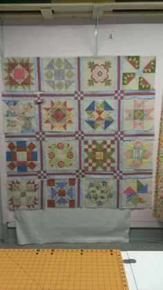 rainy daze block of the month...almost done