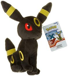 Umbreon ~9? Mini-Plush: Pokemon Evolution of Eevee Series � The Toy Shop